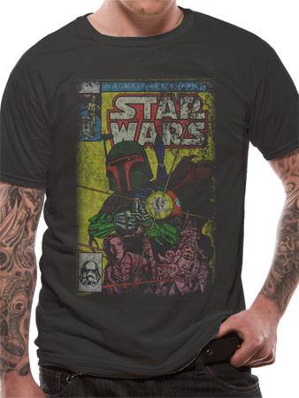 Star Wars (Boba Blast) T-shirt Preview