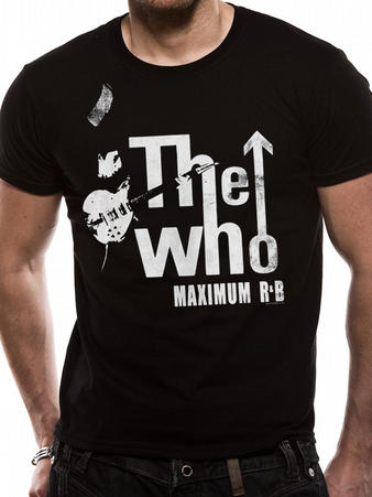 The Who (Maximum R & B) T-shirt Preview