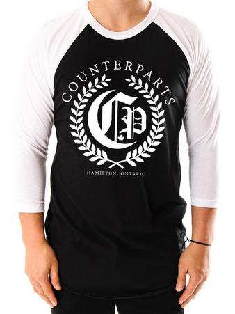 Counterparts (Olive Branch) Raglan Preview