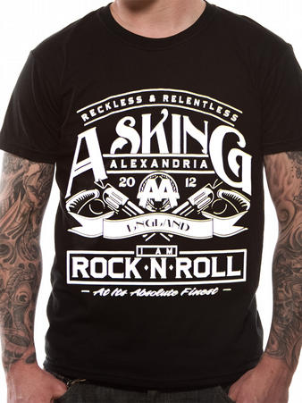 Asking Alexandria (Rock N Roll) T-shirt Preview