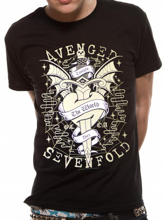 Avenged Sevenfold (Cloak And Dagger) T-shirt Preview