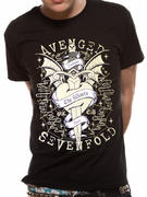 Avenged Sevenfold (Cloak And Dagger) T-shirt