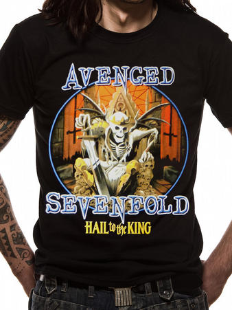 Avenged Sevenfold (Deadly Rule) T-shirt Preview