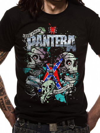 Pantera (Texas Skull) T-shirt Preview