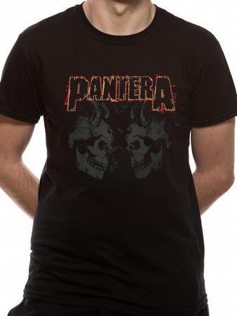 Pantera (Watermarked Skulls) T-shirt Preview