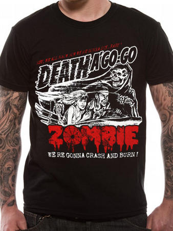 Rob Zombie (Zombie Crash) T-shirt Preview