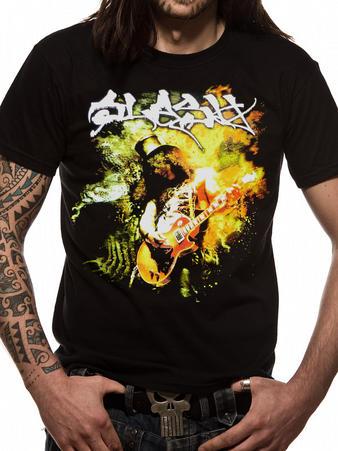 Slash (Flames) T-shirt Preview