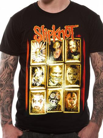 Slipknot (New Masks) T-shirt Preview