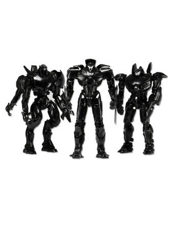 "Pacific Rim (SDCC Exclusive Box Set Gypsy/Striker/Typhoon) 7"" Deluxe 3 Figure Set Preview"