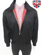 Warrior (Fully Red Tartan Lined) Harrington Jacket