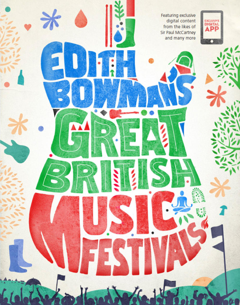 Edith Bowman's (Great British Music Festivals) Book Released 7th May *First 100 Copies Signed*