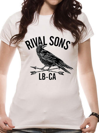 Rival Sons (Crow) Fitted T-shirt Preview