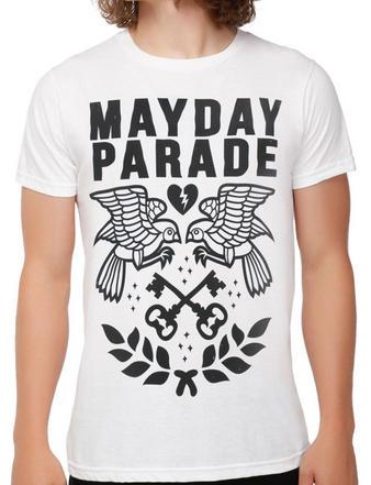 Mayday Parade (Bird And Keys) T-shirt Preview