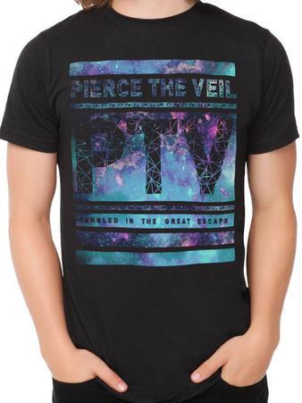 Pierce The Veil (Great Escape) T-shirt Preview