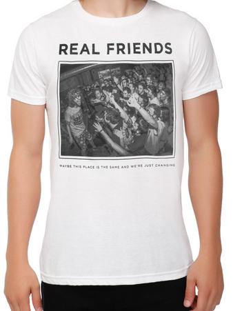 Real Friends (Live Photo) T-shirt Preview