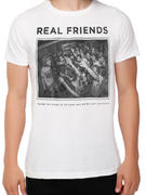 Real Friends (Live Photo) T-shirt