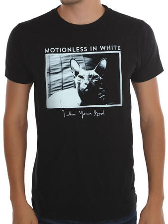 Motionless In White (Cat) T-shirt Preview