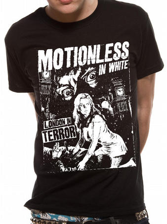 Motionless In White (London Terror) T-shirt Preview