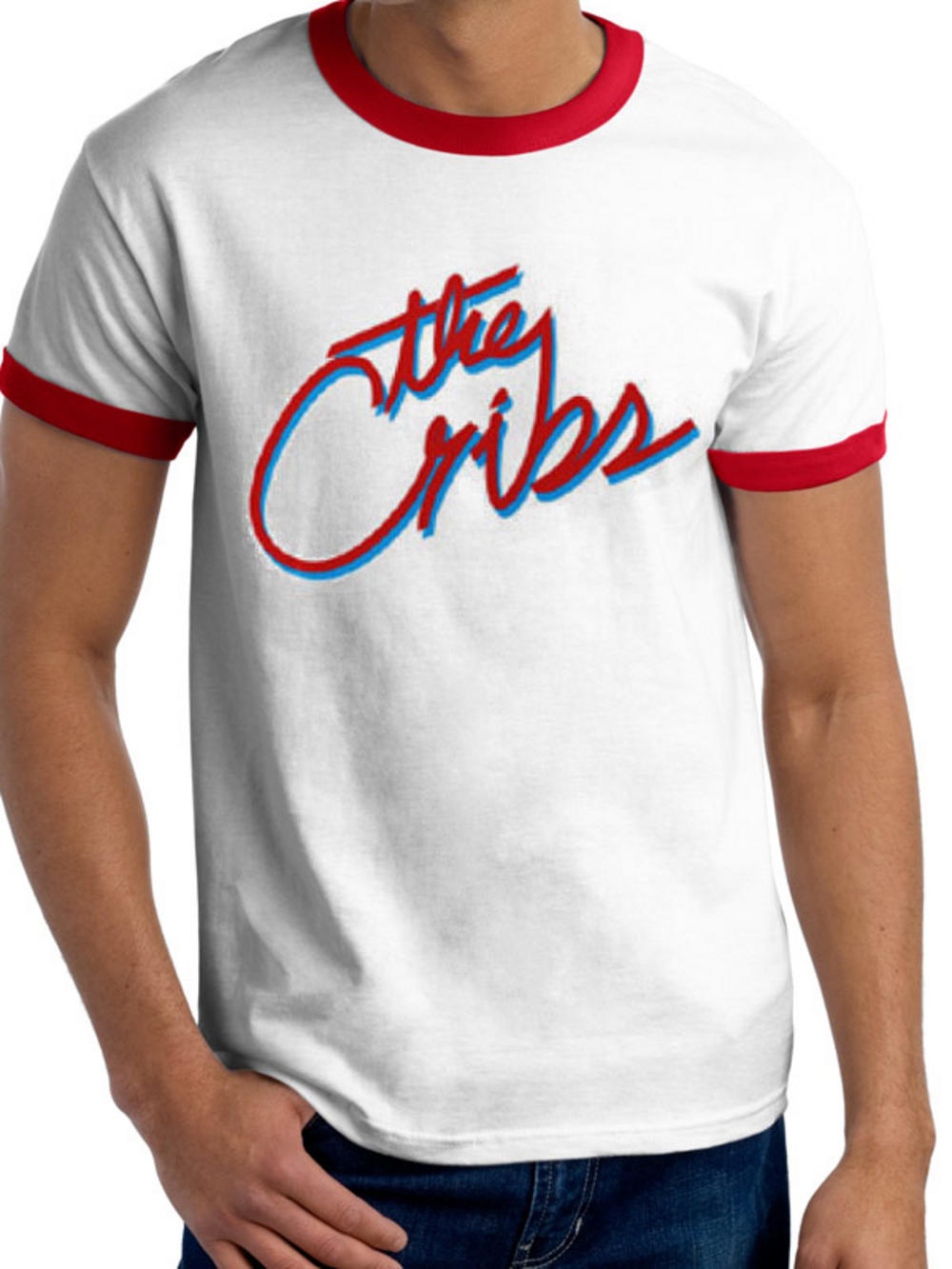 The Cribs (Script Logo) T-shirt