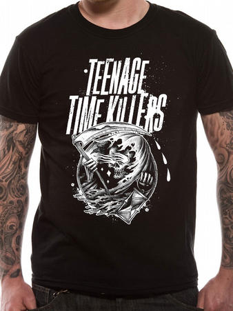 Teenage Time Killers (The Reaper) T-shirt Preview