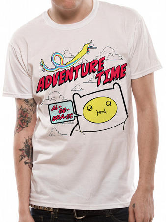 Adventure Time (Algebraic) T-shirt Preview