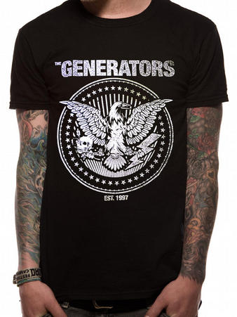 Generators (The Raven) T-Shirt Preview