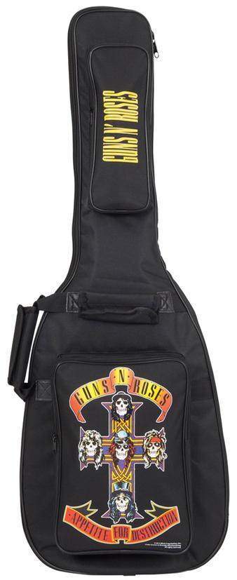 Guns N Roses (Appetite) Bass Guitar Case Preview