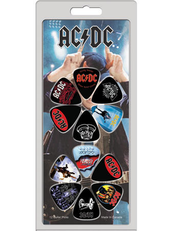 AC/DC (12 Pack) Guitar Picks Preview