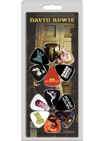 David Bowie (12 Pack) Guitar Picks Preview