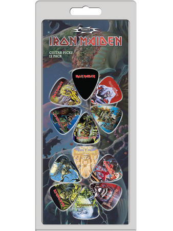 Iron Maiden (12 Pack) Guitar Picks Preview