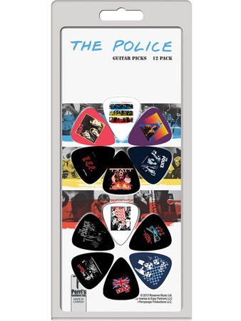 The Police (12 Pack) Guitar Picks Preview