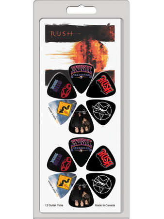 Rush (12 Pack) Guitar Picks Preview