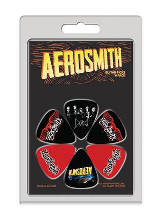 Aerosmith (6 Pack) Guitar Picks Preview