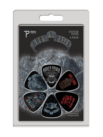 Guns N Roses (Logo 6 Pack) Guitar Picks Preview