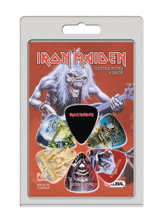 Iron Maiden (Beast 6 Pack) Guitar Picks Preview