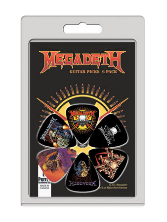 Megadeth (6 Pack) Guitar Picks Preview
