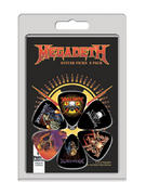 Megadeth (6 Pack) Guitar Picks