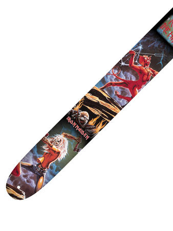 Iron Maiden (Skull Fang) Leather Guitar Strap Preview