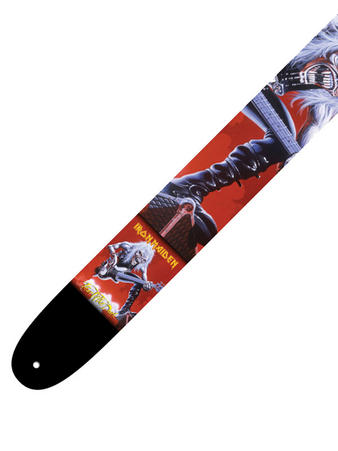 Iron Maiden (Guitar Man) Leather Guitar Strap Preview