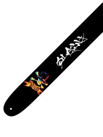 Slash (Skulls) Leather Guitar Strap Preview