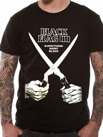 Black Flag (Everything Went Black) T-Shirt Preview