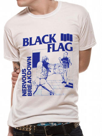 Black Flag (Nervous Breakdown) T-Shirt Preview