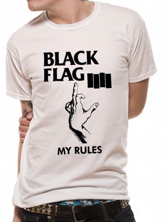 Black Flag (My Rules) T-Shirt Preview