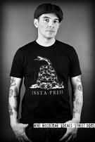 Insta-Press (Made In The USA/Don't Tread On Me) T-shirt Thumbnail 2
