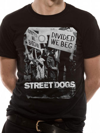 Insta-Press Street Dogs (Divided We Beg) T-shirt Preview