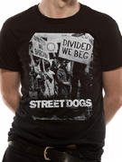 Insta-Press Street Dogs (Divided We Beg) T-shirt