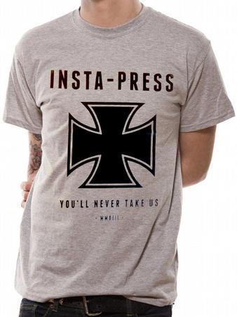 Insta-Press (Iron Cross) T-shirt Preview