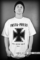 Insta-Press (Iron Cross) T-shirt Thumbnail 2