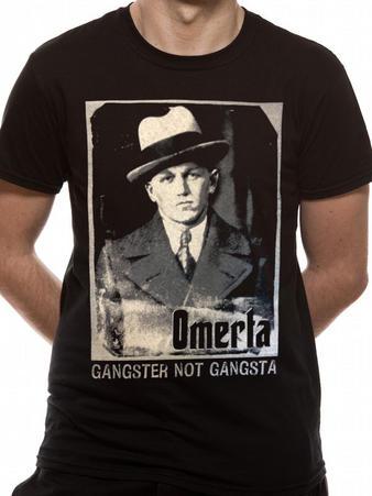 Omerta (Gangster Not Gangsta) T-shirt Preview