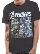 The Avengers (Sketch Panels) T-shirt